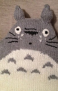 http://www.ravelry.com/patterns/library/totoro-cushion
