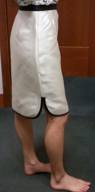 J.Crew Tuxedo Pencil Skirt