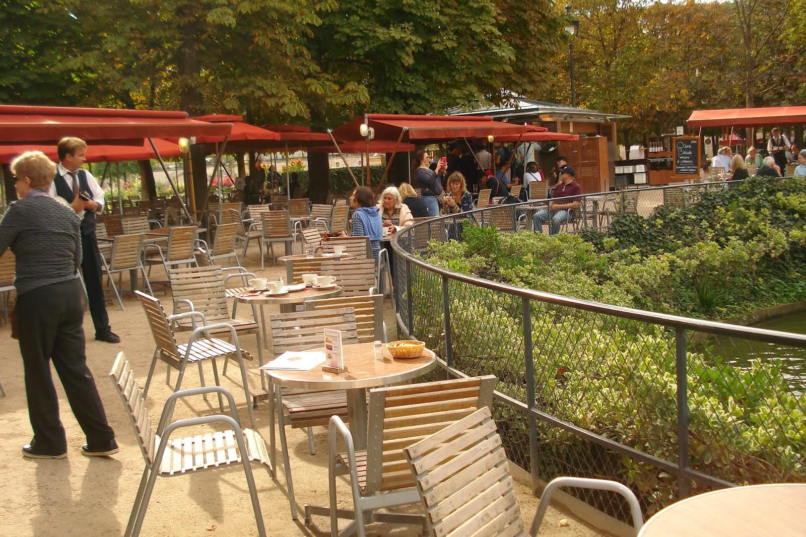 La terrasse de pomone un caf la campagne the terrasse de pomone a coffee place 39 in the - Jardin des tuileries restaurant ...