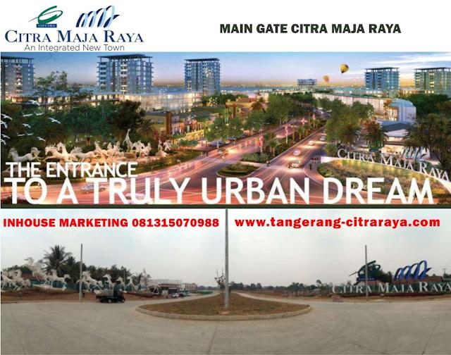 Main Gate Citra Maja Raya
