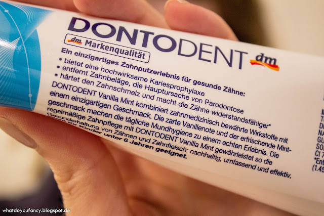 Vanille-Minz-Zahncreme im Praxistest