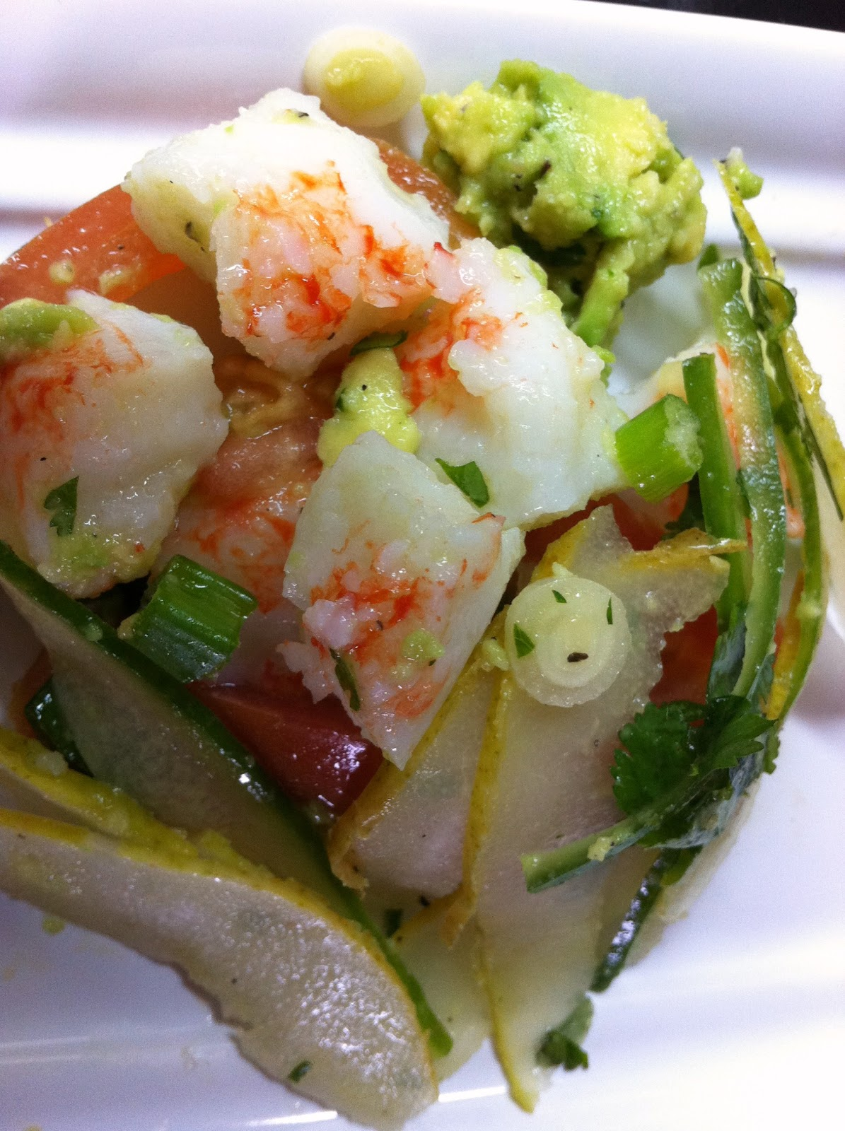 Skinny Simple Recipes: Imitation Lobster Salad