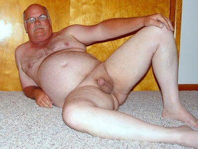 old man naked - chubby daddies