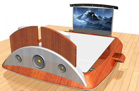8. James Bond Bed By Nicolas Melan