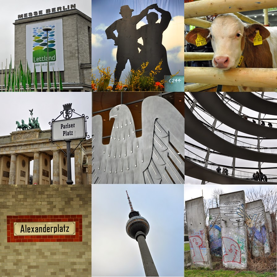Berlin, Berlin | Lucky Friday | Bild-Collage