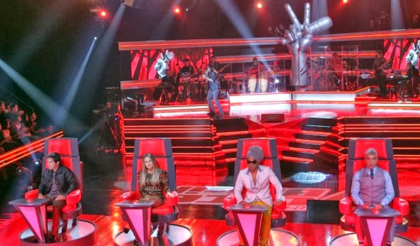 The Voice Brasil ao vivo - Apresentadores e técnicos