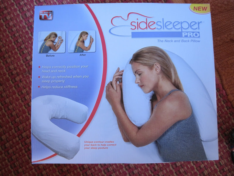 The pillow I'm using for my neck. This seems to be helping a lot. it  title=