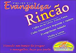 PROJETO EVANGELIZA RINCÃO