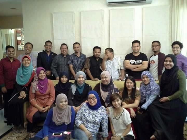 Blogger bersama Dr Niki Shuhada Shukor