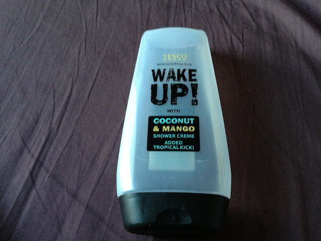 Tesco Wake Up! Coconut & Mango Shower Creme