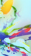 Colorful Blots iPhone 5 Wallpaper HD. Tags: color (iphone hd wallpapers dtbm )