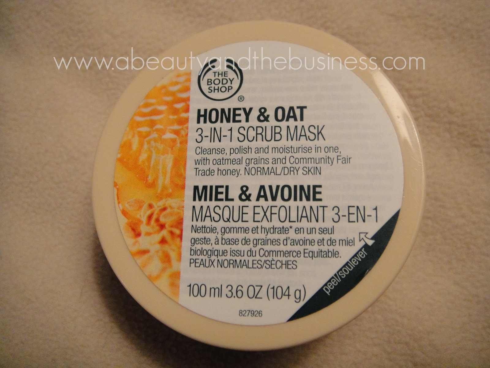 The Body Shop Honey and Oat 3-in-1 Scrub Mask Review, honey and oat mask review, the body shop mask review, the body shop honey and oat mask review, honey and oat scrub review,