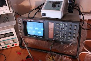 Ett Philips PM 3350 Oscilloskop som verkar varit ett samarbete med Fluke Säljes