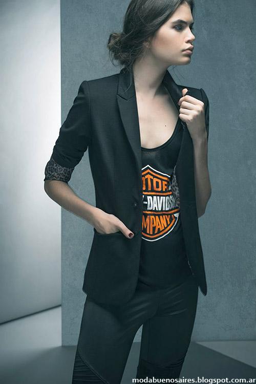 Sacos sastre moda mujer invierno 2015 Doll Store.