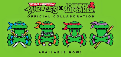 Johnny Cupcakes x Nickelodeon Teenage Mutant Ninja Turtles T-Shirt Collection