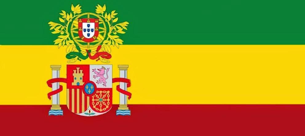 União Ibérica, Bandeira, Portugal, Espanha