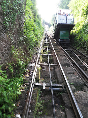 Lynmouth to Lynton Cliff Railway
