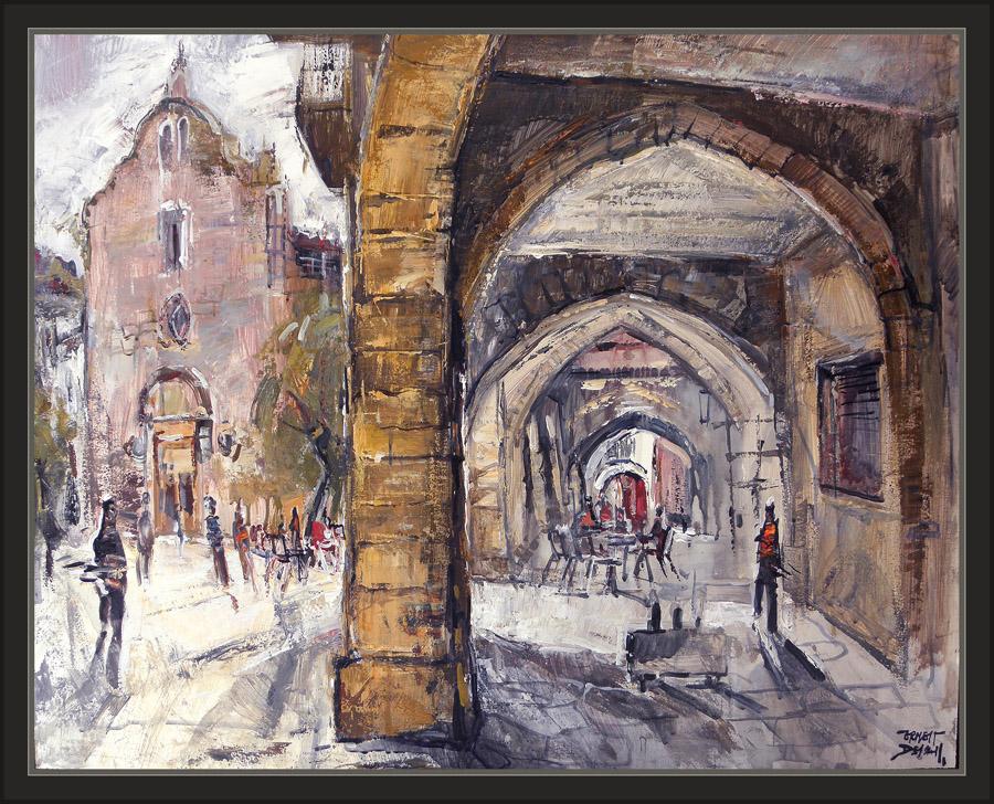 Ernest descals artista pintor sanahuja pintura lleida paisatges esglesia fotos pobles cuadros - Pintores en lleida ...