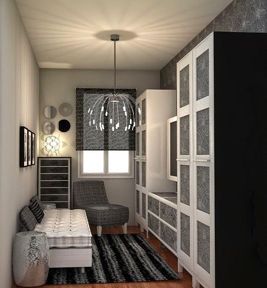 Arantxa amor decoraci n una peque a habitaci n multiusos for Ideas decoracion habitacion pequena