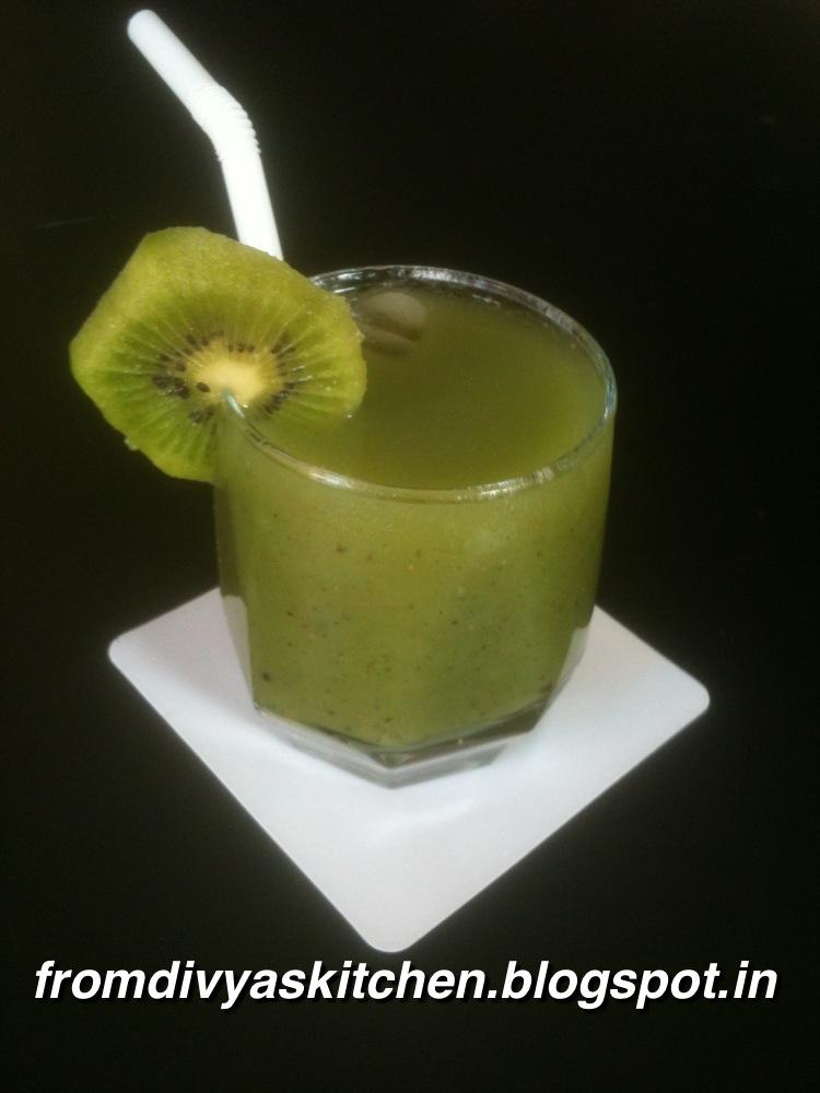 From Divya's Kitchen: Kiwi & Cucumber Cooler