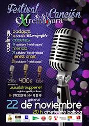 CASTINGS FESTIVAL DE LA CANCIÓN DE EXTREMADURA 2014