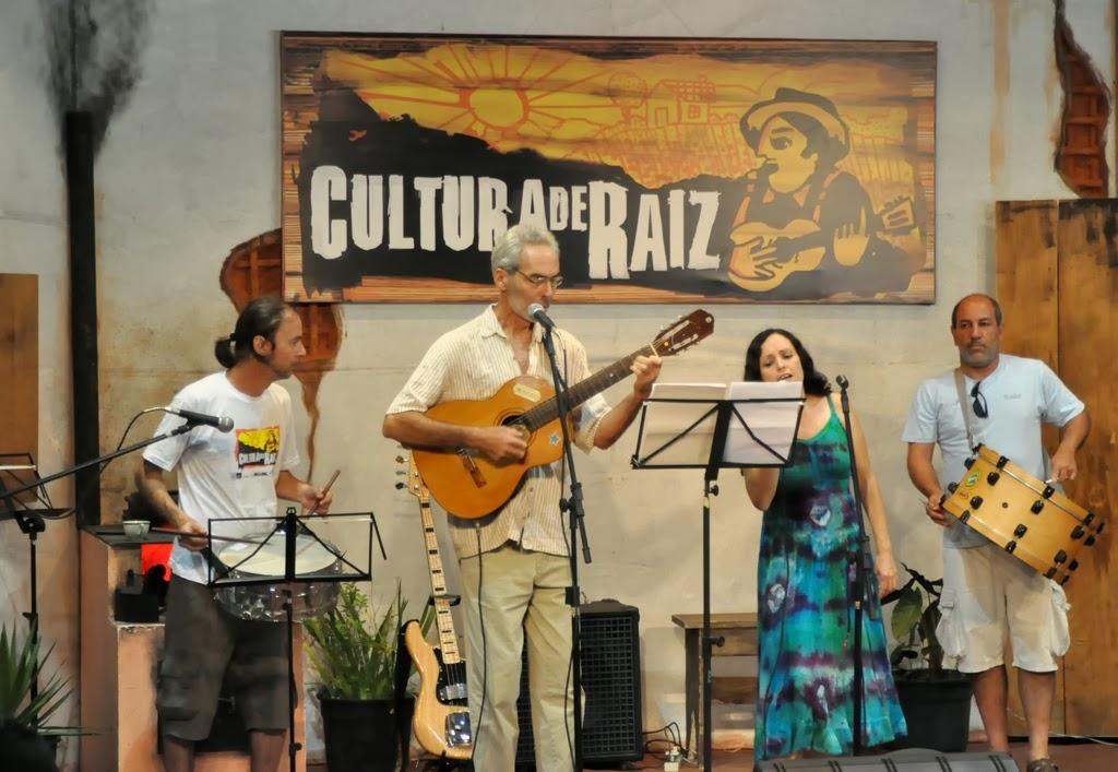 Ayrton Rebello, Beto Selig, Maria Eduarda e Arnaldo Almeida