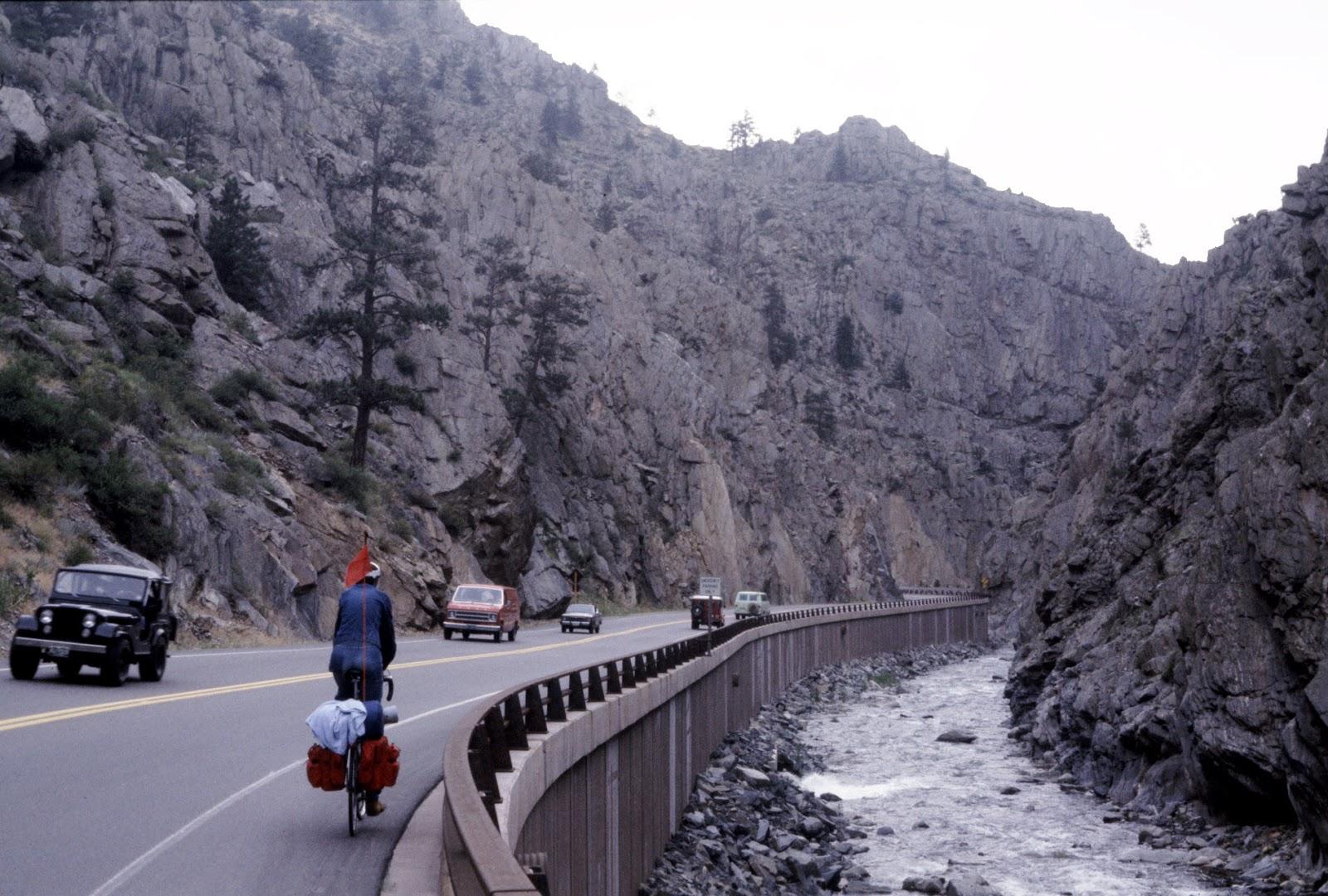 Cycling through the canyon