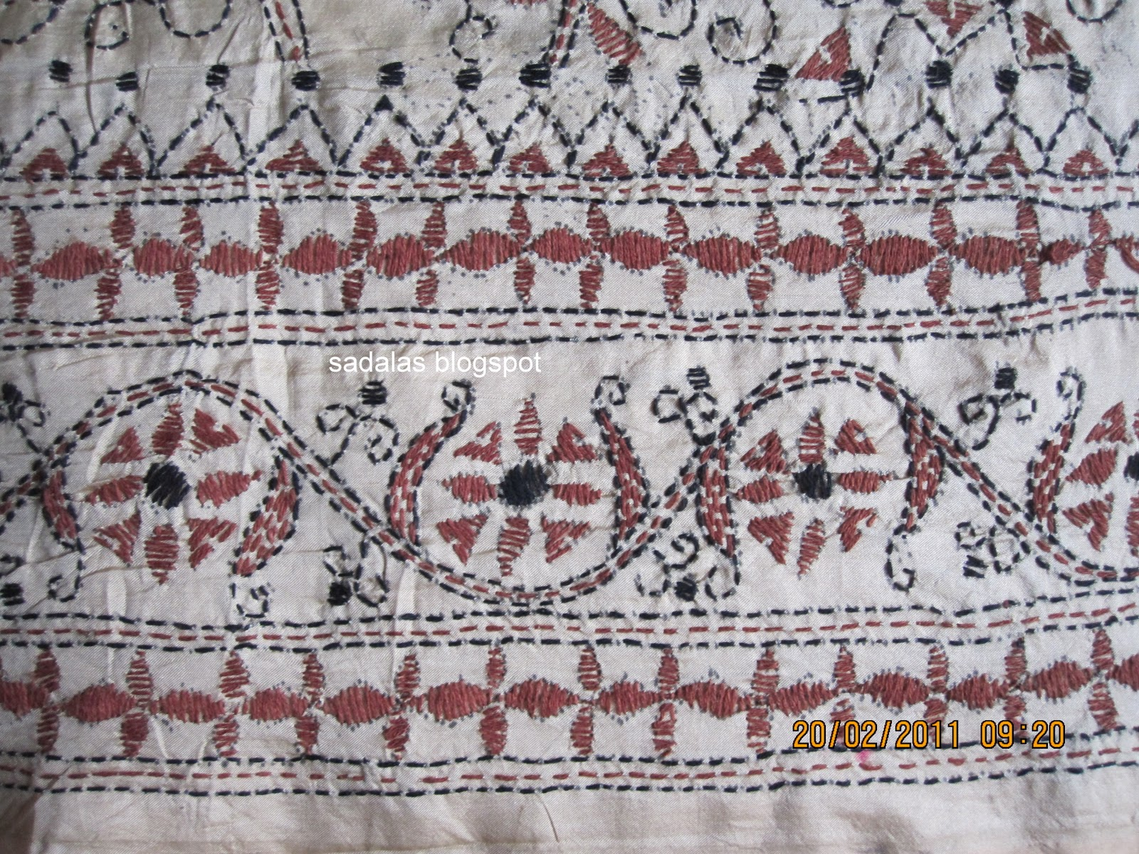 Textiles Embroidery