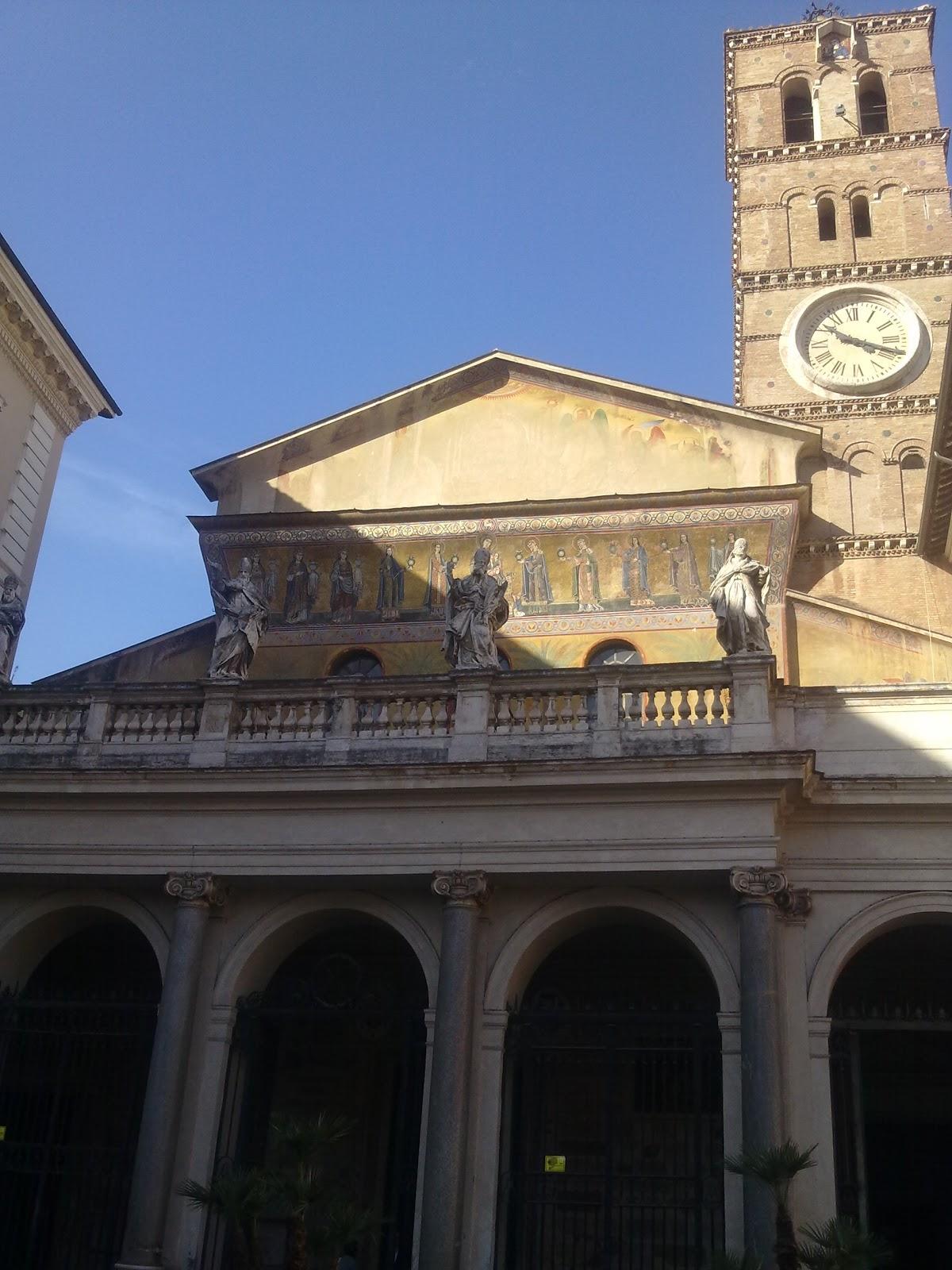 LE CHIESE: I MOSAICI MEDIEVALI DI SANTA MARIA IN TRASTEVERE