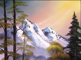 "Bob Ross, ""Foot of the Mountain"", Temporada 8 episódio 8"