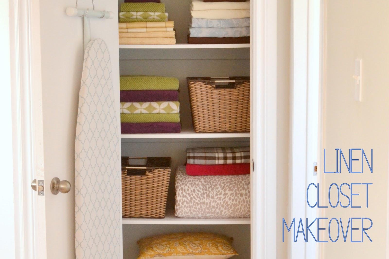 Honey Sweet Home Linen Closet Makeover