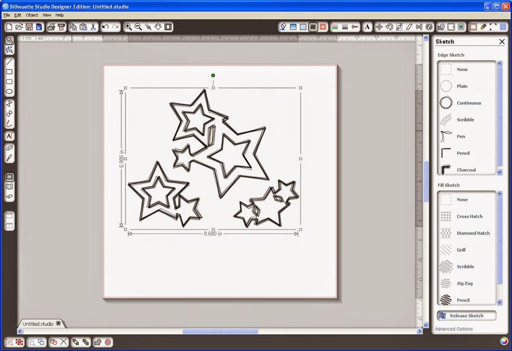 برنامج مجاني إحترافي لإنشاء وتصميم الكروت وبطاقات الأعمال Silhouette Studio 3.0.293 win-mac