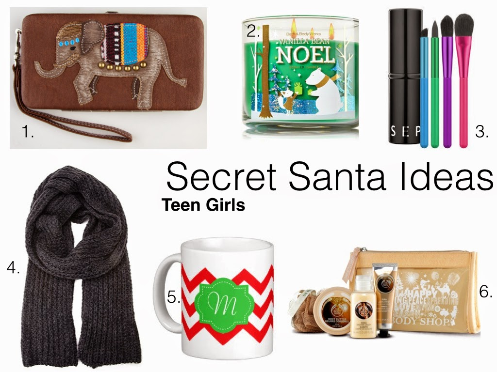 traveling posh secret santa gift ideas teen girls for best christmas gifts for secret santa
