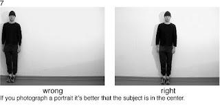 Совет 7. При портретной съемке снимаемого лучше поместить в центр