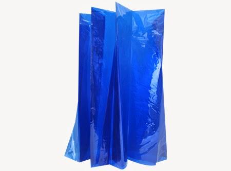 Celofán azul