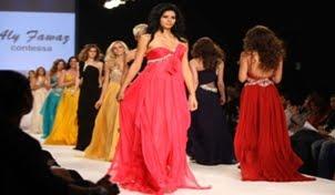 Pakistani Models Getting Ready For Fashion Show in Dubai