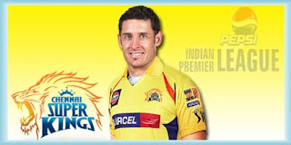 IPL Chennai Super Kings Michael Hussey Profile and Records