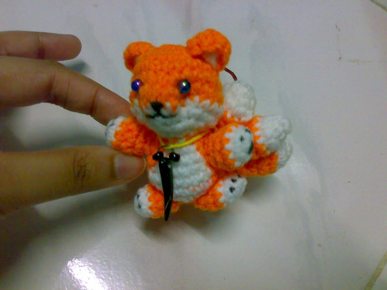 My Skills Guide: Miniature : Fox Kyuubi Amigurumi