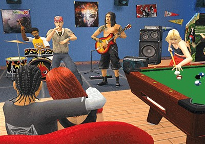 how to start a band in sims 3
