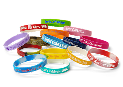 New Year Wristbands