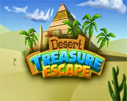 Juegos de Escape Desert Treasure Escape