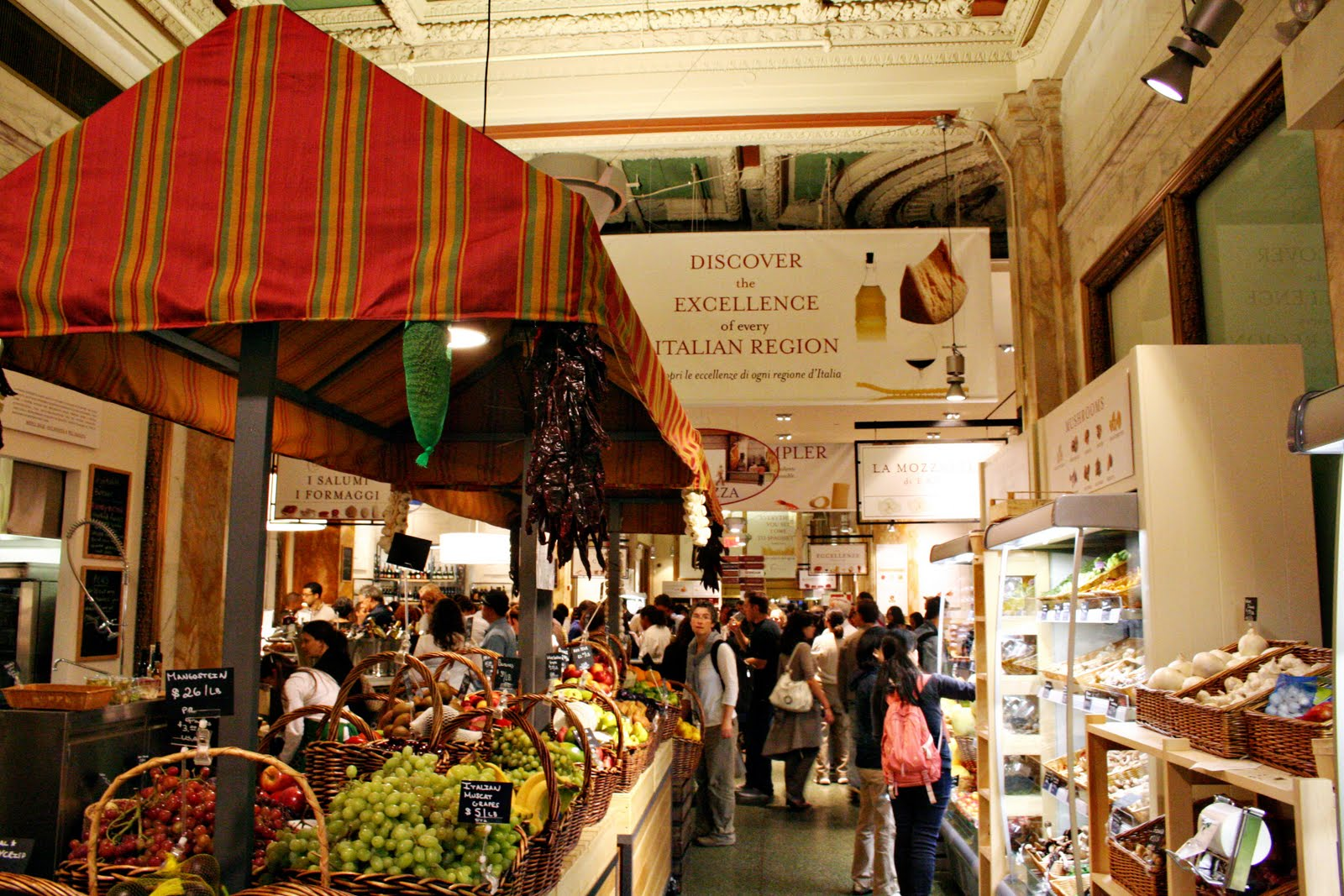 Eataly New York Ny Heaven For Foodies Restaurants I