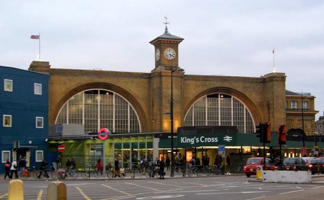 King's Cross Station, London, England