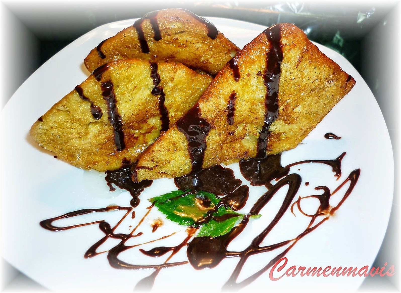TORRIJAS REGADAS CON CHOCOLATE