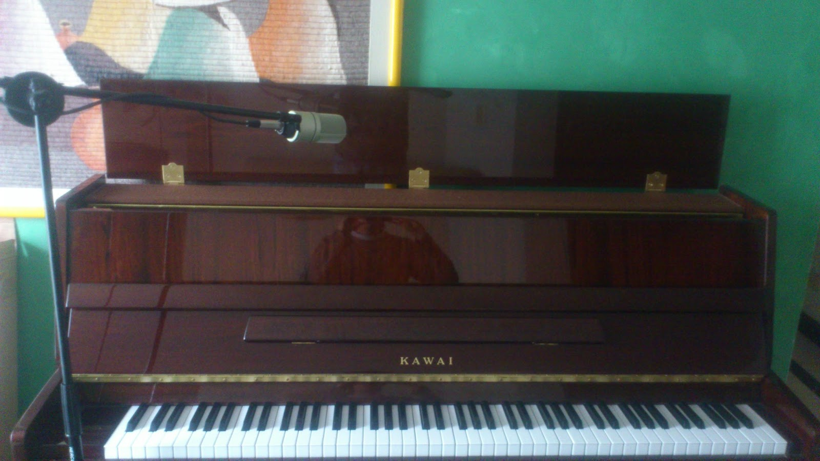 Assignment 1 how to setup for recording an upright piano for Piano placement in home