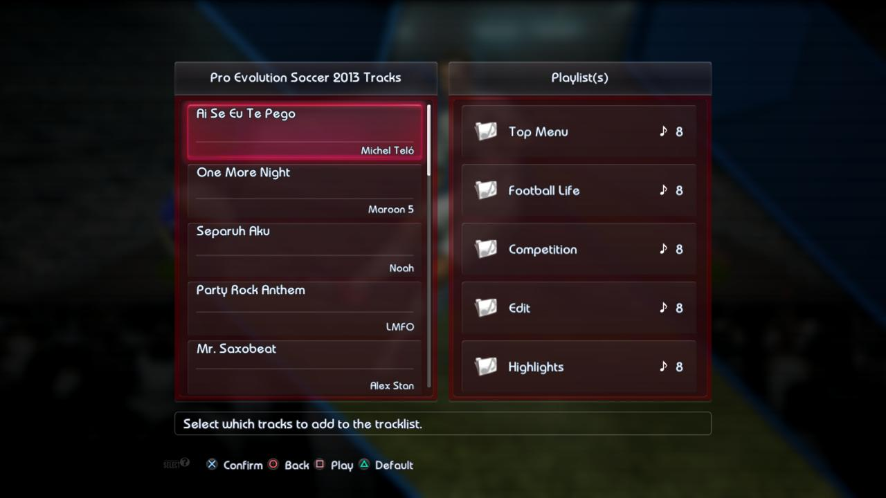 Pro Evolution Soccer 2013 kostenloser Download Java
