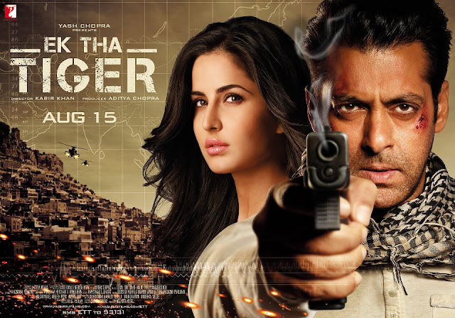 'Ek Tha Tiger' Movie Aug 15 Release date poster