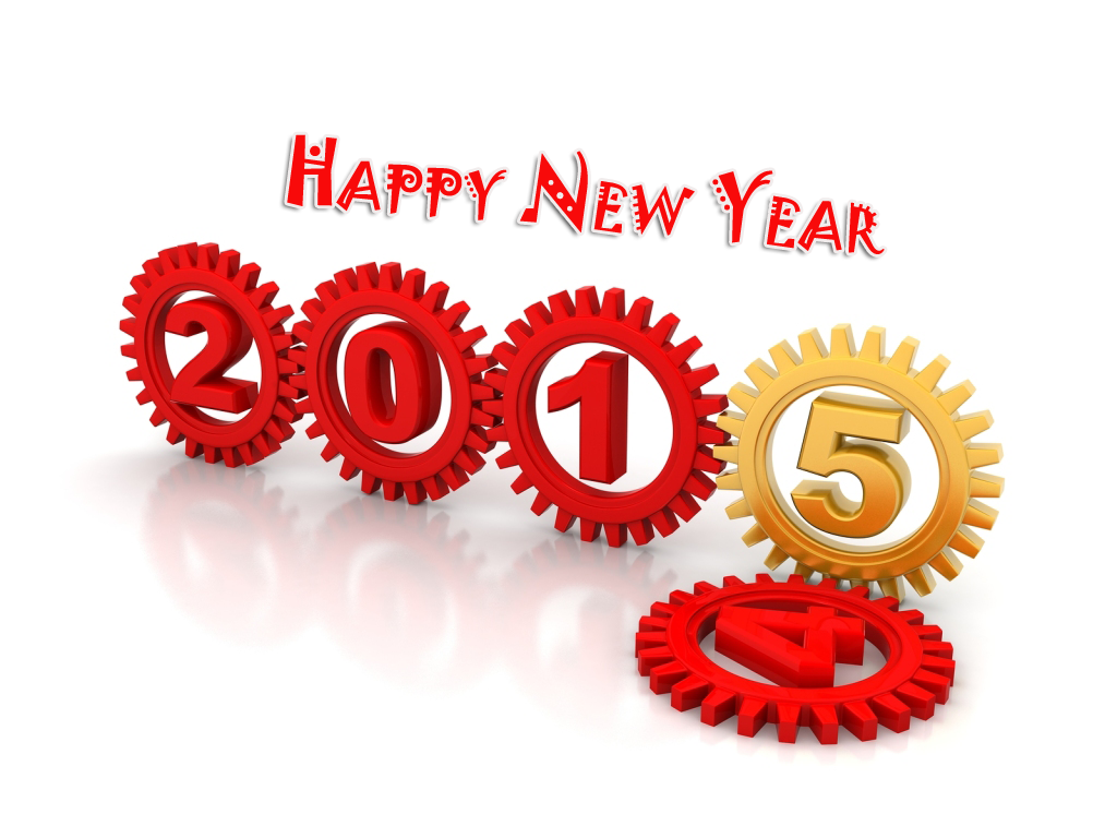 Best Of Happy New Year 2015 HD Wallpaper