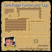 http://auntiemdesigns.blogspot.com/2014/09/torn-paper-frames-and-tags.html.