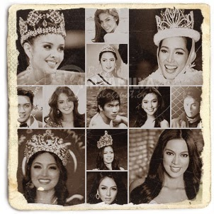 The beauty kings and queens of the year 2013 from the Philippines